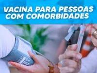 Panfleto Comorbidades Campanha da Vacinação COVID E INFLUENZA